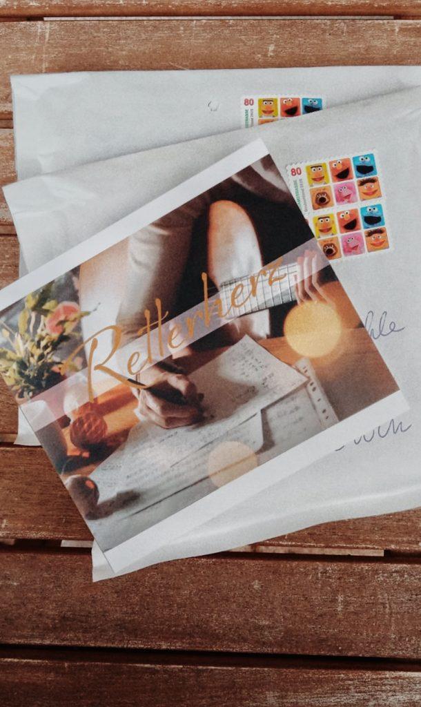 CD Retterherz von Dorothe Wilmannsauf Versandumschlag