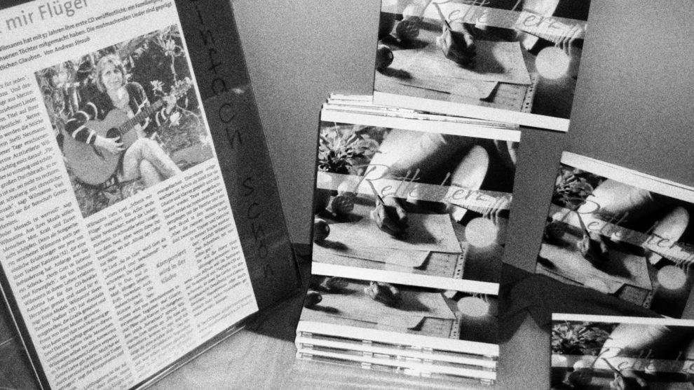 CD Retterherz in Buchhandlung