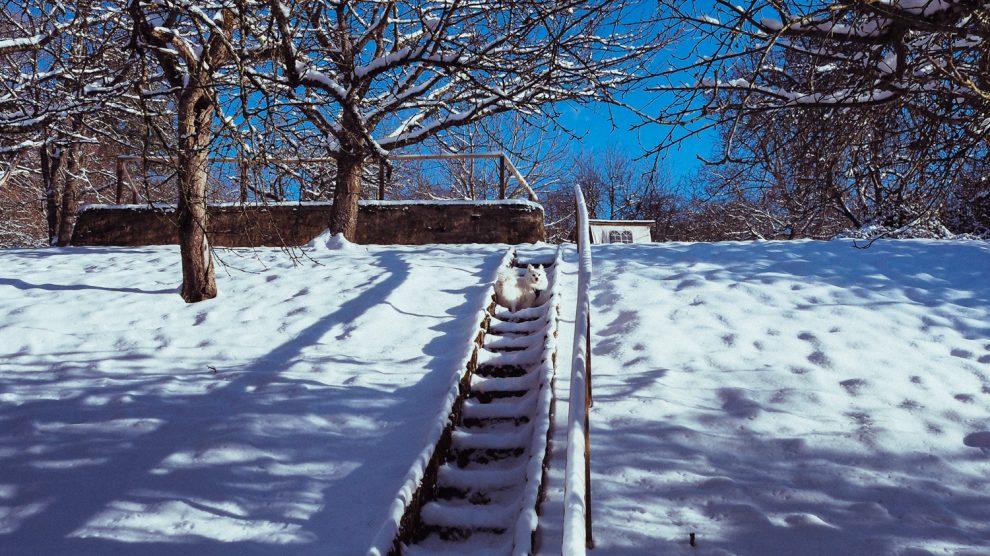 Schnee... und mir wird klar, wie groß Gott ist