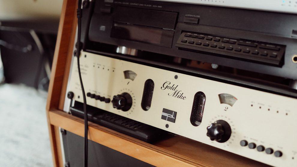 im Tonstudio für die Retterherz-CD